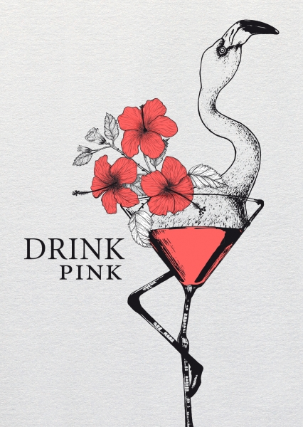 Dipster »Drink pink«