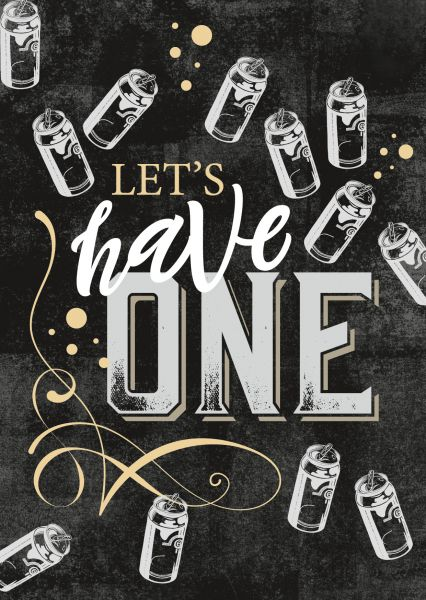 Craft »Let's have one«