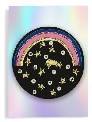Coaster card »Rainbow«