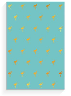 Notepad »Flamingo blue«