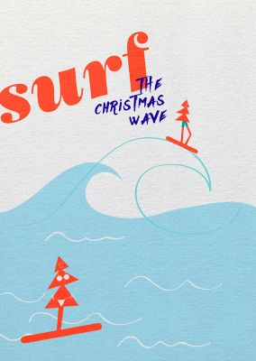 Say it »surf the christmas wave«