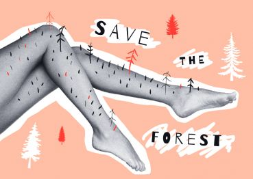 Girls »Save the forest«