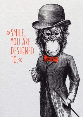 Dipster »Smile, you are designed to«