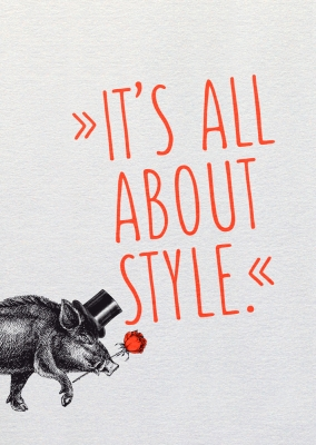 Dipster »It's all about style«