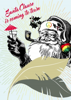 Celebration »santa is coming«