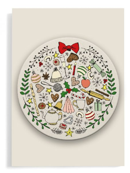 Coaster card »All for christmas«