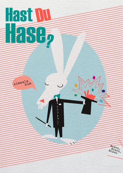 Say it »Hast Du Hase?«