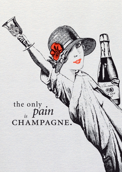 Dipster »The only pain is champagne«