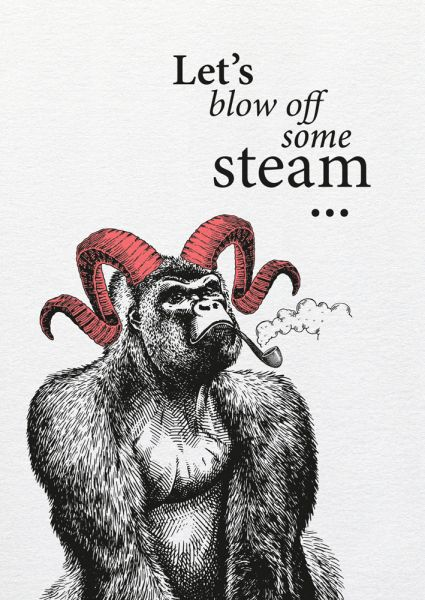 Dipster »Blow off steam«