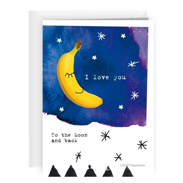 Happy times »I love you to the moon«